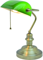 Настольная лампа Arte Lamp Banker A2492LT-1AB -
