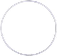 Обруч для художественной гимнастики Amely AGO-101 (85см, белый) -