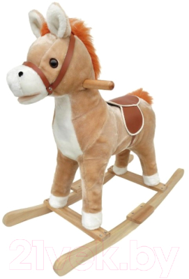 Фото - Качалка-каталка Наша игрушка Лошадка / WJ-305 кукла наша игрушка на прогулке 15 см лошадка