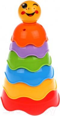 Развивающая игрушка Наша игрушка Пирамидка Колобок / 200600907
