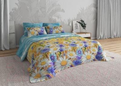 Комплект постельного белья Моё бельё Васильковое поле 0384 2
