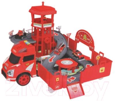 Набор игрушечной техники Наша игрушка Пожарный / 660-A260