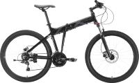 Велосипед STARK Cobra 26.2 HD 2021 (18, черный/серый) -