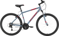 Велосипед STARK Outpost 26.1 V 2021 (16, серый/красный) -