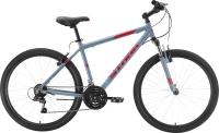 Велосипед STARK Outpost 26.1 V 2021 (20, серый/красный) -