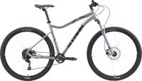 Велосипед STARK Tactic 29.4 HD 2021 (22, серебристый/черный) -