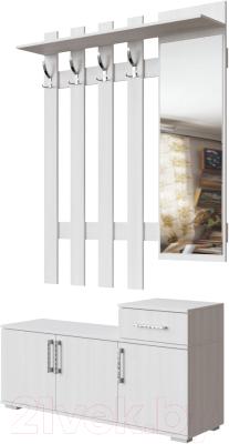 Секция в прихожую SV-мебель Д №3 1.2м