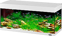 Аквариум Ferplast Dubai 120 Led / 65038111 (240л, белый) -