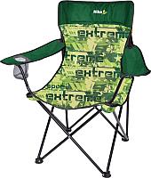 Кресло складное Ника Премиум 6 / ПСП6 (экстрим/зеленый) -