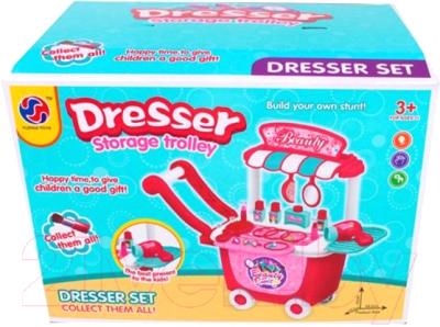 Туалетный столик игрушечный Наша игрушка Салон красоты на колесах / 2016-44A