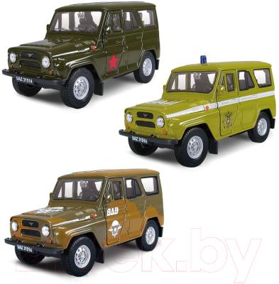 Автомобиль игрушечный Autogrand UAZ 31514 Военные / 65211