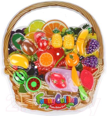 Набор игрушечных продуктов Наша игрушка Фрукты / NF357-L3