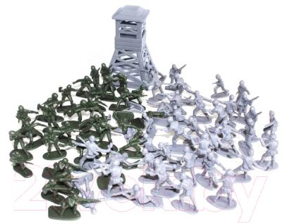 Набор фигурок Биплант Рота солдат / 12053