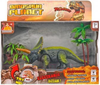 Фото - Фигурка Наша игрушка Динозавр / 200358018 конструкторы наша игрушка гибкий динозавр 27 деталей