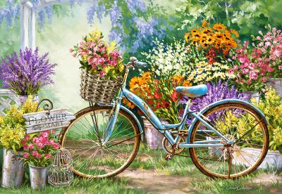 Пазл Castorland Цветочный магазин / C-103898