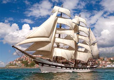 Пазл Castorland Корабль в гавани / B-52851 пазл castorland tall ship leaving harbour b 52851 500 дет