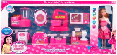 Кукла с аксессуарами Наша игрушка Бытовая техника / 100857604