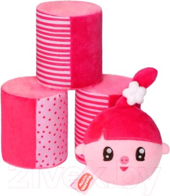 Развивающая игрушка Мякиши Малышарики. Городки с Нюшенькой / 655