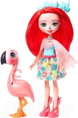 enchantimals кукла felicity fox Кукла с аксессуарами Mattel Enchantimals с питомцем / GPL94/GTM34