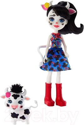 enchantimals кукла felicity fox Кукла с аксессуарами Mattel Enchantimals с питомцем / GPL94/GTM35