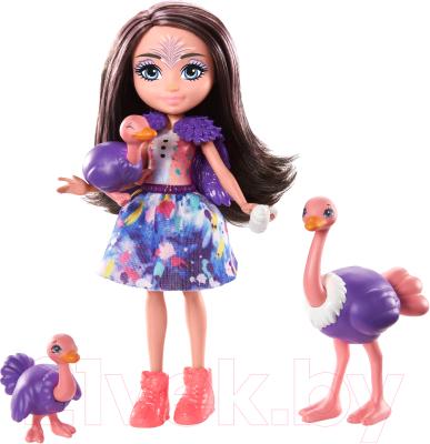 enchantimals кукла felicity fox Кукла с аксессуарами Mattel Enchantimals с питомцем / GTM32