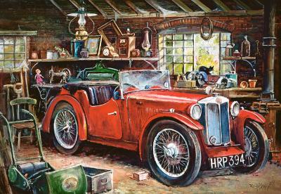 Пазл Castorland Старинный гараж / C-104574