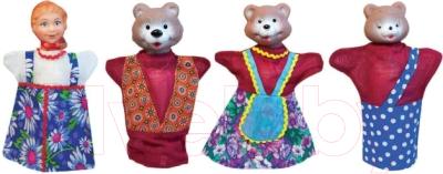 Фото - Набор кукол-перчаток Русский стиль Три медведя / 11064 смартфончик три медведя