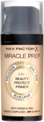 Основа под макияж Max Factor Miracle Miracle Prep 3in1 Beauty Protect Primer SPF30 PA+++