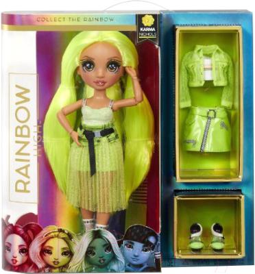 Кукла с аксессуарами Rainbow High Карма Николс / 572343EUC