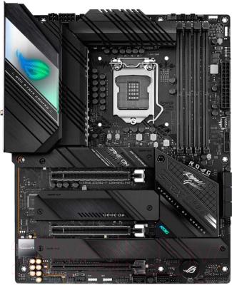 Материнская плата Asus Rog Strix Z590-F Gaming WiFi монитор asus tuf gaming vg27aq 27 черный