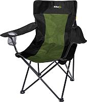 Кресло складное Ника Премиум 6 / ПСП6 (черный/хаки) -