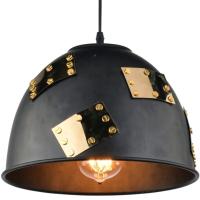 Потолочный светильник Arte Lamp Eurica A6023SP-1BK -