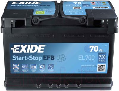 Автомобильный аккумулятор Exide ECM EL700