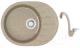 Мойка кухонная Berge BG-5801 + смеситель GR-4003 (песочный глянец/классик) -