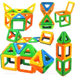 Конструктор магнитный Наша игрушка ZB16A конструктор shantou gepai наша игрушка 3d магнитный 52 детали 703 631105