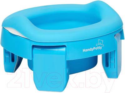 Фото - Дорожный горшок Roxy-Kids HandyPotty / HP-255B roxy kids горшок дорожный roadpotty hp 245 голубой
