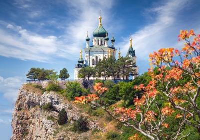 Пазл Castorland Храм в Форосе, Крым / B-53155