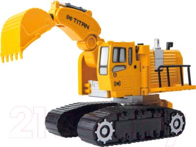 Робот-трансформер JRX Construction Строитель Solomon. Экскаватор / 63875