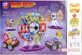 Конструктор магнитный Наша игрушка LT4001 конструктор shantou gepai наша игрушка 3d магнитный 52 детали 703 631105