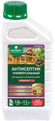 Фото - Антисептик для древесины Prosept Universal для наружных и внутрених работ 1:10 антисептический грунт для древесины prosept eco universal 5 л