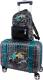 Чемодан на колесах DeLune Lune-003 + рюкзак (черный) -