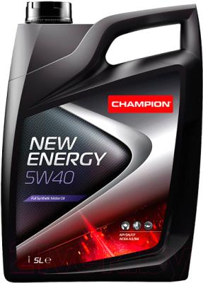 Моторное масло Champion New Energy 5W40 / 8211850