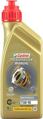 Трансмиссионное масло Castrol Transmax Manual Multivehicle 75W90 / 15D816