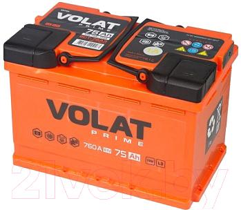 Автомобильный аккумулятор VOLAT Prime R+