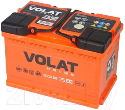 Автомобильный аккумулятор VOLAT Prime L+
