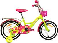 Детский велосипед AIST Lilo 2021 (18, желтый) -