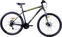 Велосипед AIST Quest Disc 29 2021 (17.5, черный/желтый) -