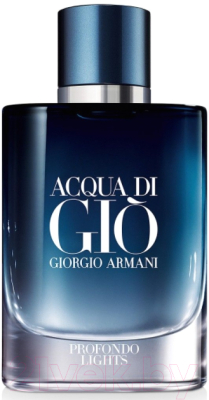 Парфюмерная вода Giorgio Armani Acqua di Gio Profondo Lights for Men