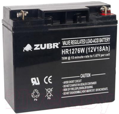 Батарея для ИБП Zubr HR1276W 12V/18Ah