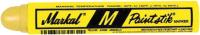 Маркер строительный Markal Pocket M Paintstik / 81921 (желтый) -